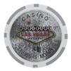 15g Clay Welcome to Las Vegas Chip - Laser - DiscountCasinoGear.com