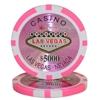 15g Clay Laser Las Vegas Chip - 5000 - DiscountCasinoGear.com