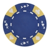14Gram BLUE TRI COLOR ACE KING SUITED CHIP - DiscountCasinoGear.com