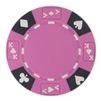 14 Gram Pink Tri-Color Ace King Suited Chip - DiscountCasinoGear.com