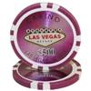 15g Clay Laser Las Vegas Chip - 500 - DiscountCasinoGear.com