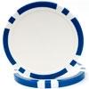 11.5g Classic Eight Stripe Dual Color Chip-Blue - DiscountCasinoGear.com
