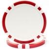 11.5g Classic Eight Stripe Dual Color Chip - DiscountCasinoGear.com