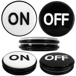 Craps off button
