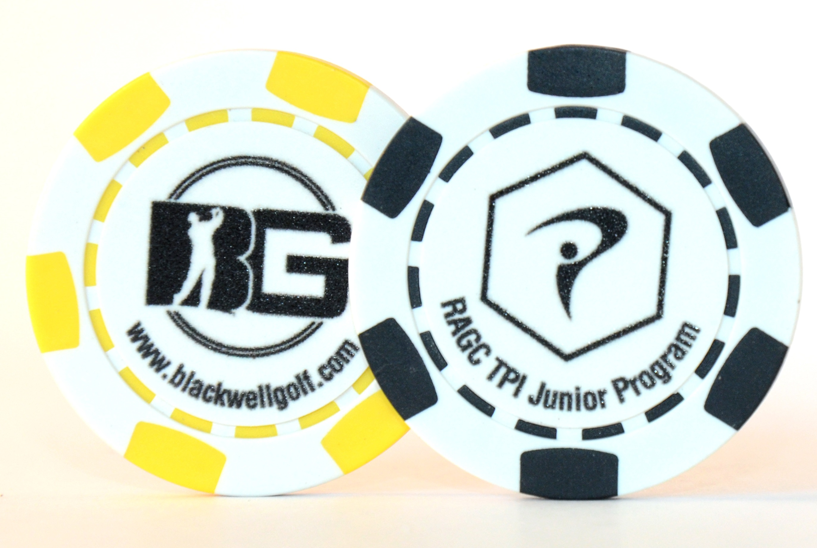 Custom Poker Chip Golf Ball Markers